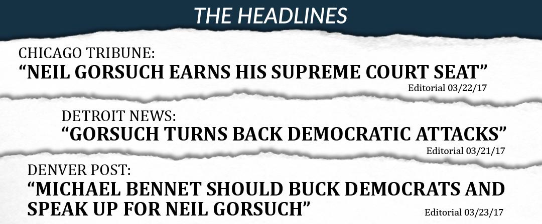 Gorsuch Headlines