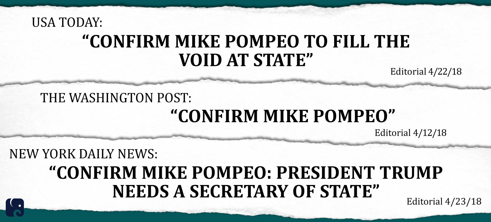 Pompeo Headlines