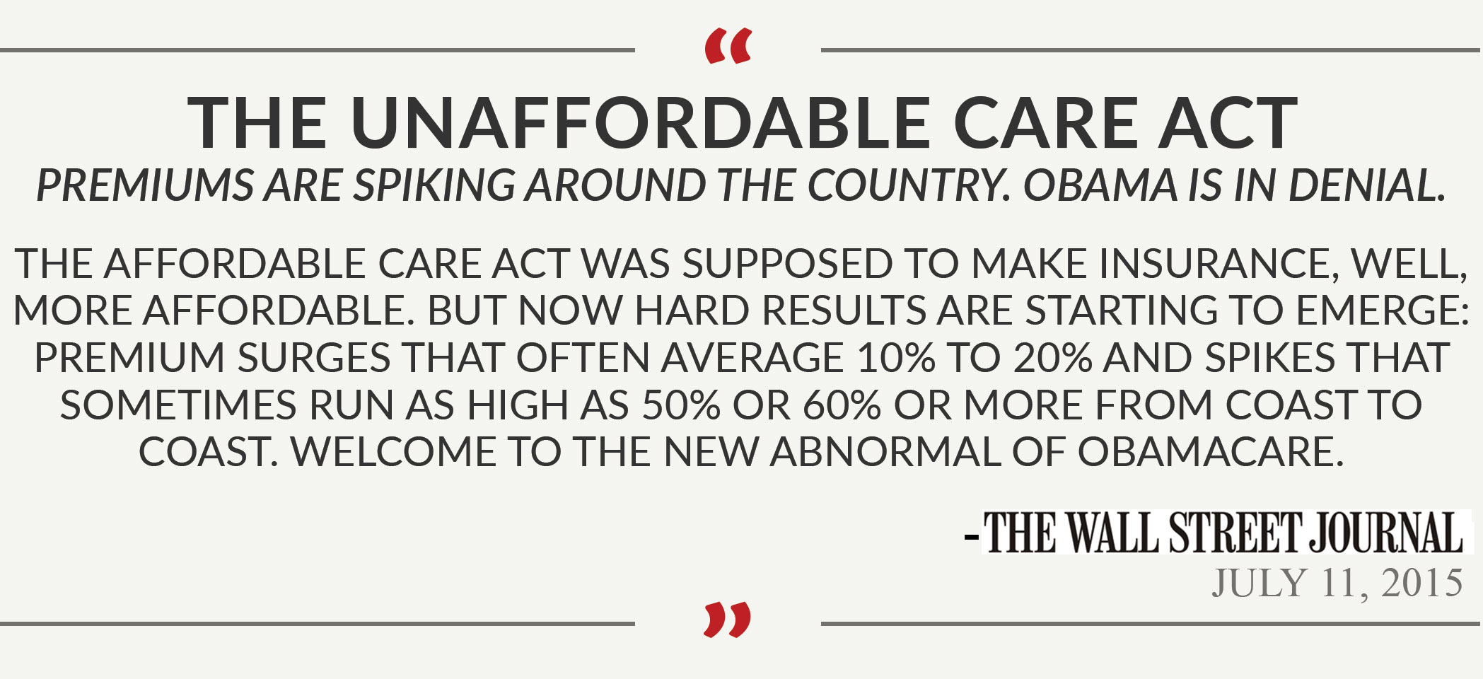 Options to Loosen the Grip of Obamacare