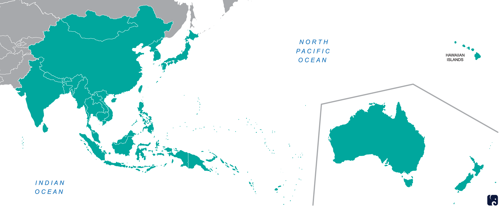 United-States-Indo-Pacific-Command-Map